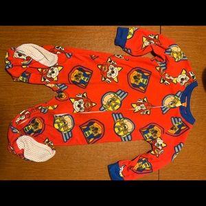 Paw patrol onesie pajamas